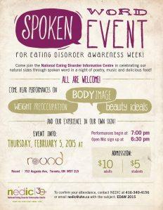Spoken word event