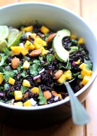 mango black rice