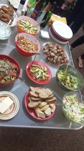 Mom's Birthday feast