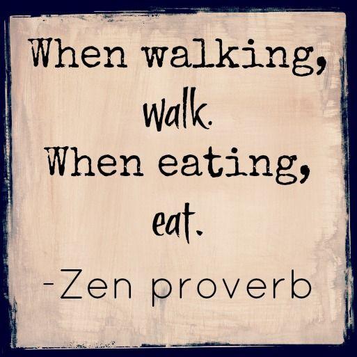 when walking walk